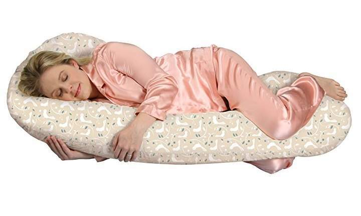 Snoogle Chic Total Body Pillow